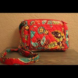 "NWOT Vera Bradley ""Little Hipster"" bag in Rumba"